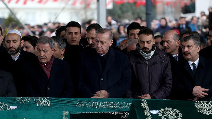 Cumhurbaşkanı Erdoğan: Buradan bizim de nasibimizi almamız lazım