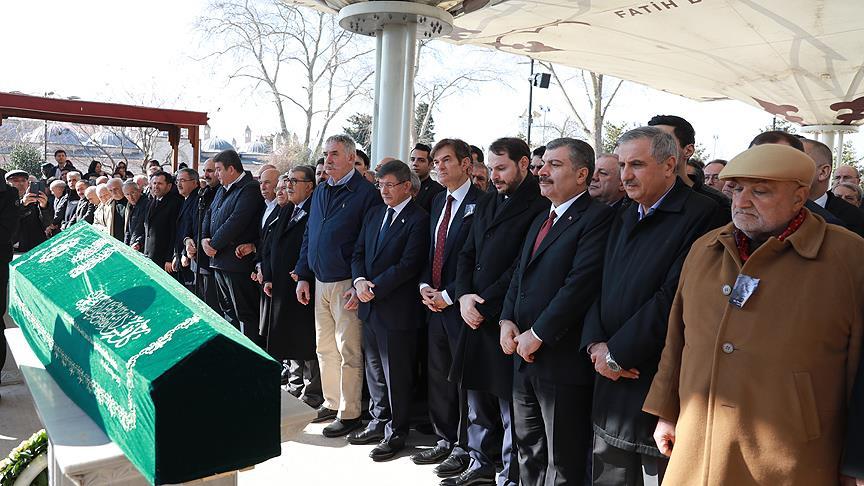 Dr.Mehmet Öz'ün babası son yolculuğuna uğurlandı