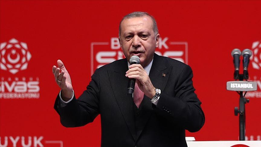 Erdoğan: Bu seçimler milli iradeye pusu kuranlarla hesaplaşma seçimidir
