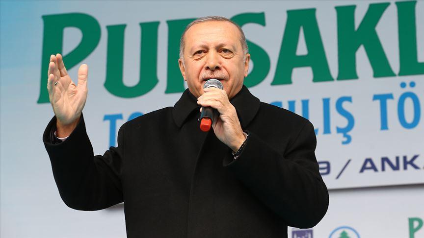 Erdoğan: Netanyahu sen Filistinli yavruları katleden zalimsin