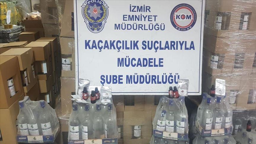 Buz Fabrikasına Sahte İçki Operasyonu