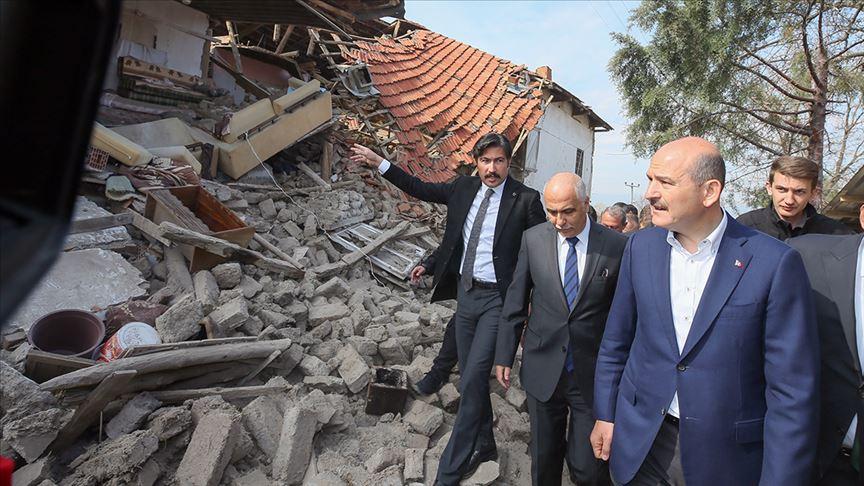 'Depremde hasar gören evlerle ilgili çalışmalar en yakın zamanda başlayacak'
