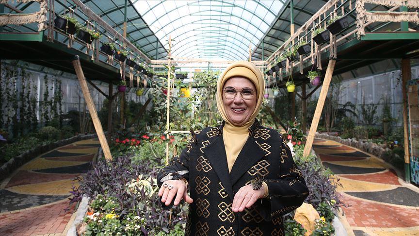 Emine Erdoğan Kelebek Vadisi'ni açtı