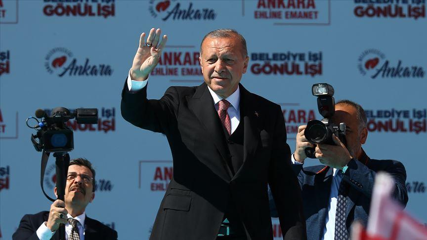 Cumhurbaşkanı Erdoğan: Bu seçim milli irade yüzsüzleri için yolun sonu olacaktır