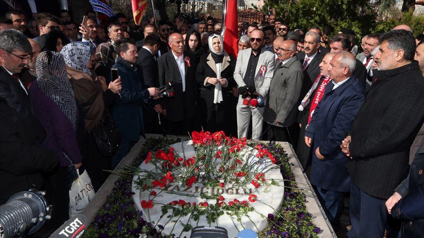 Muhsin Yazıcıoğlu kabri başında anıldı!