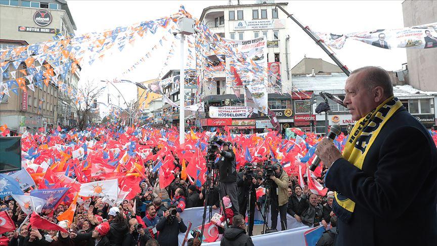 Erdoğan'dan Ağrı'ya istihdam müjdesi