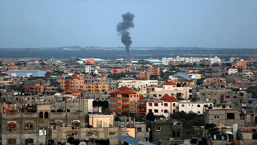 İsrail Gazze'yi vuruyor!
