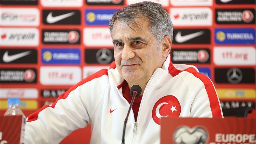 A Milli Futbol Takımı Teknik Direktörü Güneş: Oyun üstünlüğü skora yansıdı