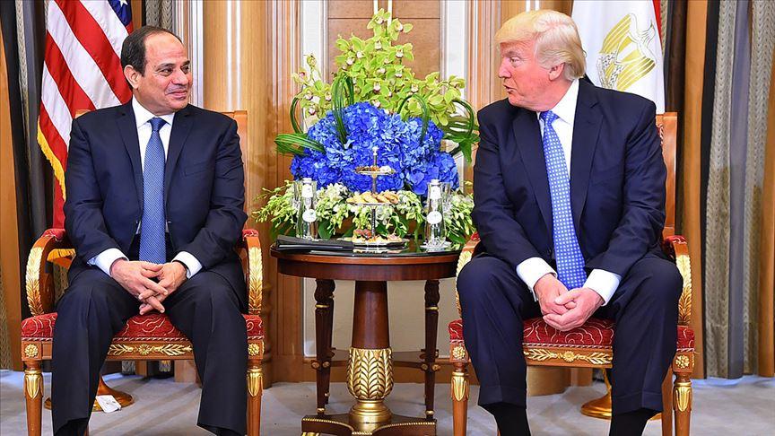Trump'tan Sisi'ye övgü