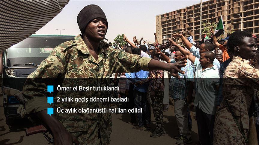 Sudan'da ordu yönetime el koydu!