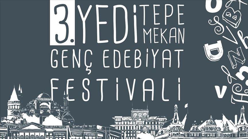 'Yedi Tepe Yedi Mekan Genç Edebiyat Festivali' başlıyor!