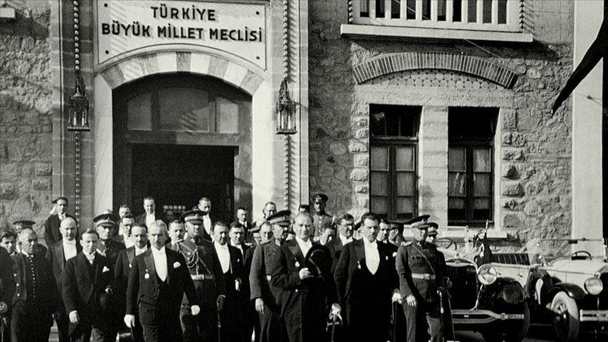 19 Mayıs 1919'dan TBMM'nin açılışına..