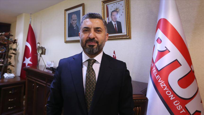 RTÜK Başkanı Şahin'den 'tarafsızlık' uyarısı