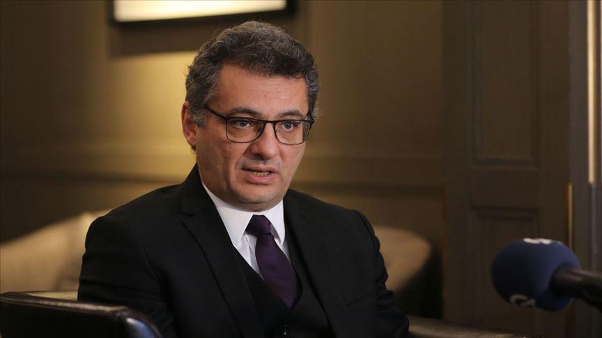 KKTC Başbakanı Erhürman istifasını Cumhurbaşkanı Akıncı'ya sundu