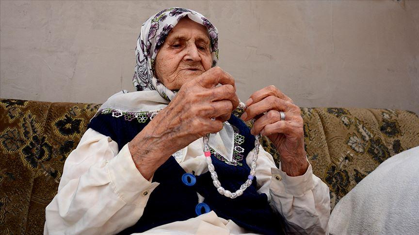 111 yaşındaki Boşnak ninenin 'ramazan heyecanı'
