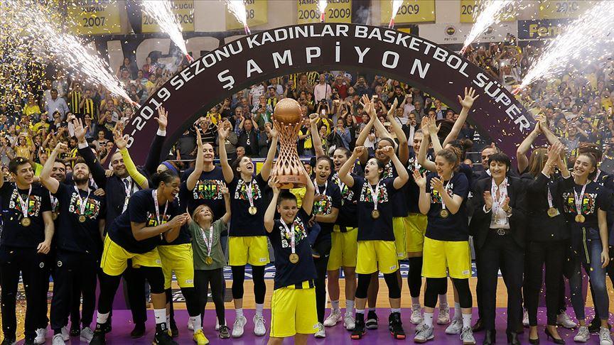 'Potada Şampiyon Fenerbahçe'