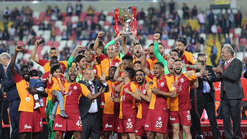 'Türkiye Kupası'nın sahibi Galatasaray'