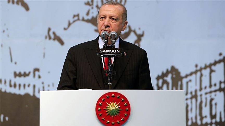 Cumhurbaşkanı Erdoğan: Bizim kızıl elmamız da büyük ve güçlü Türkiye'nin inşasıdır
