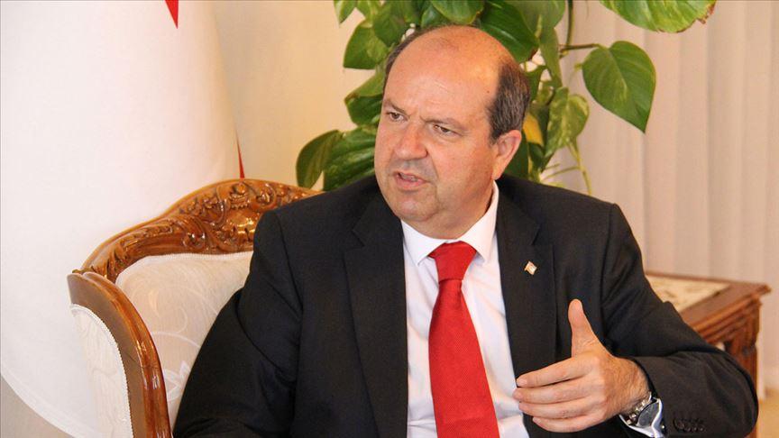 KKTC'de Ersin Tatar başbakanlık görevini devraldı
