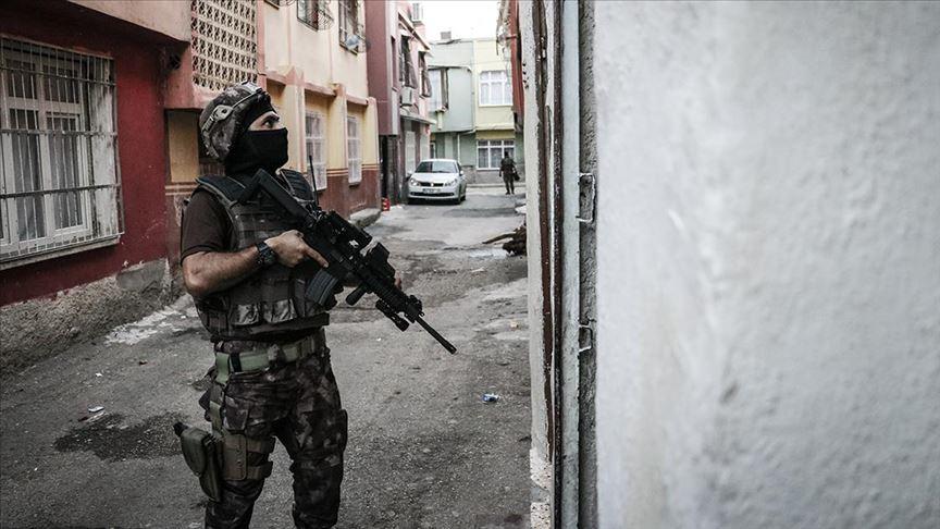 İzmir'de terör örgütü PKK/KCK operasyonu