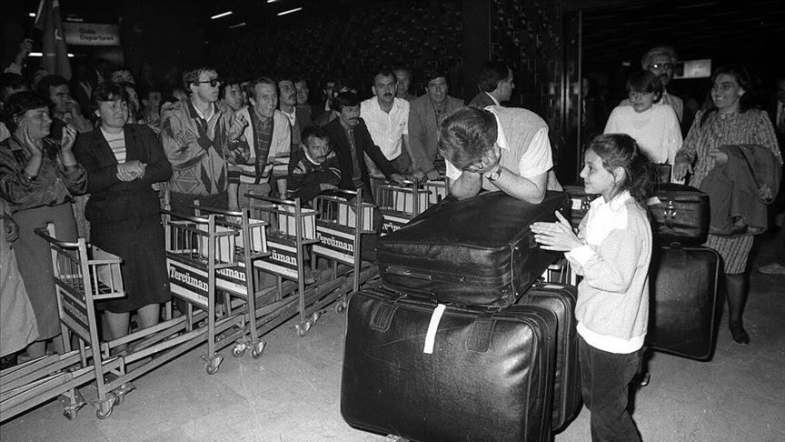 Bulgaristan Türklerinin 'zorunlu göçü'nün 30. yılı