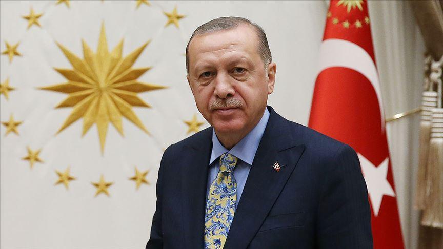Cumhurbaşkanı Erdoğan'dan Çiğdem Nişancı'ya taziye telefonu