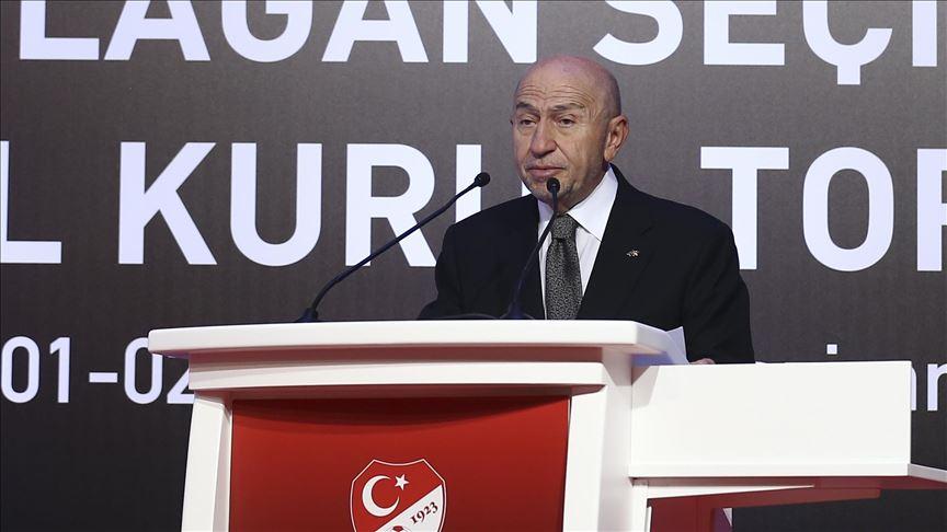'TFF'nin yeni başkanı Nihat Özdemir'
