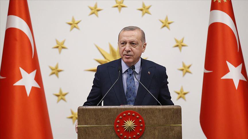 Cumhurbaşkanı Erdoğan liderlerle bayramlaştı!