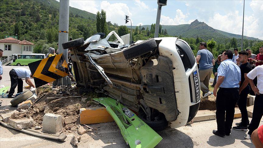 Bayram tatilindeki trafik kazalarında 86 kişi hayatını kaybetti!