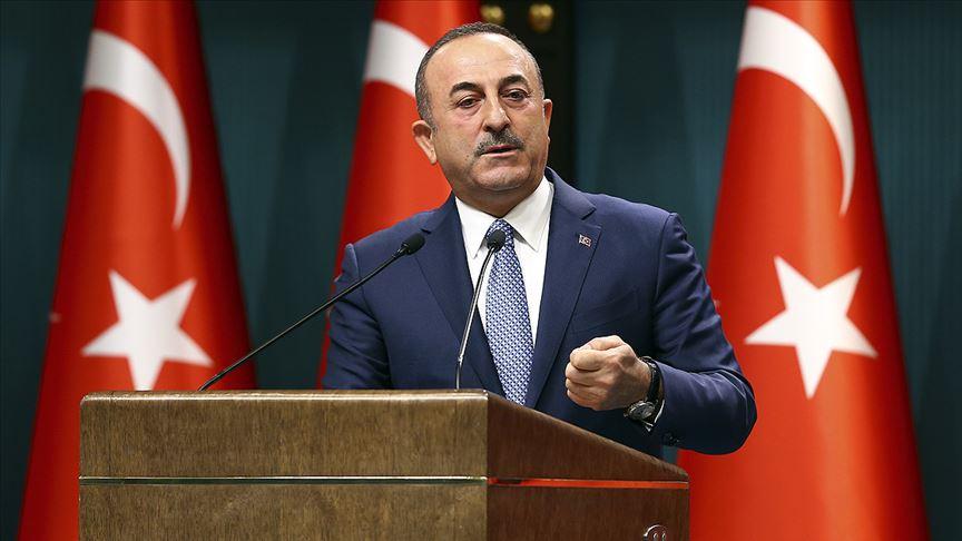 Dışişleri Bakanı Çavuşoğlu: A Milli Futbol Takımı'nın gördüğü olumsuz muameleler kabul edilemez