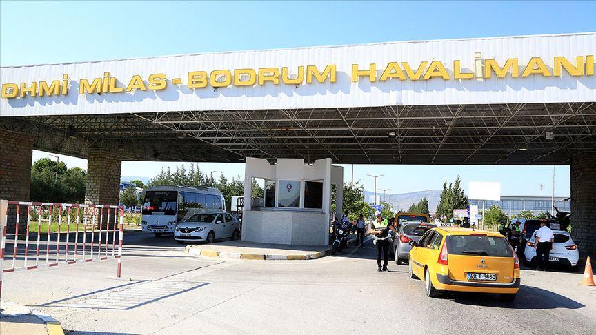 Milas-Bodrum Havalimanı'nda özel jet pistten çıktı!