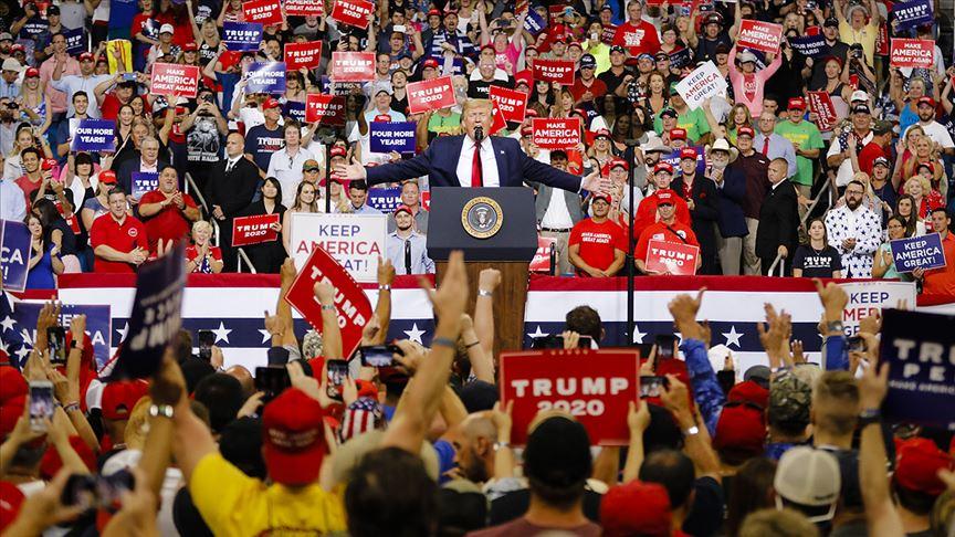 Trump yeni dönem başkan adaylığı için seçim kampanyasına başladı