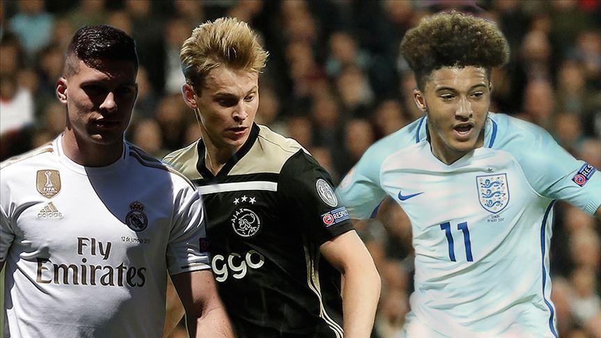 'Avrupa futbolunun yükselen değerleri'