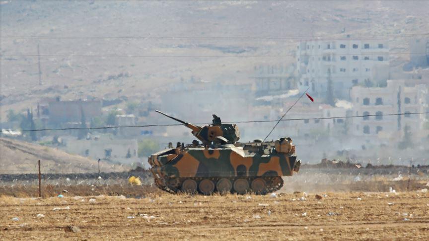 Suriye'de rejim mevzileri vuruldu