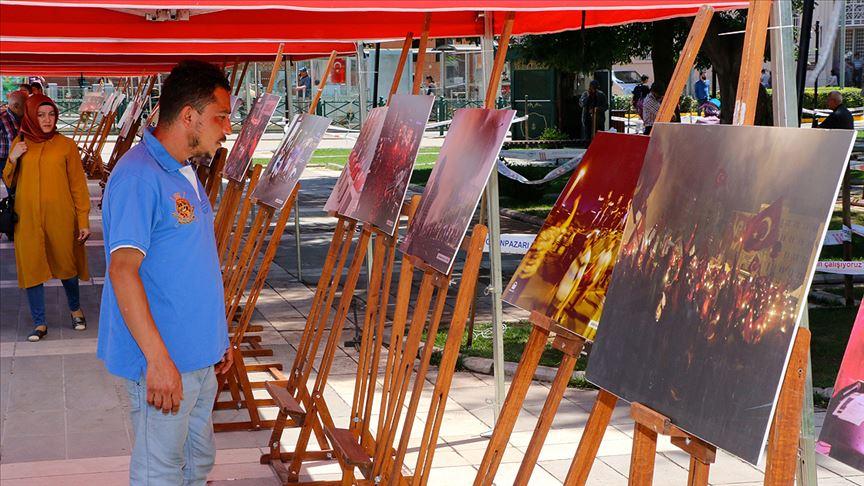 Eskişehir'de AA fotoğraflarıyla 15 Temmuz sergisi