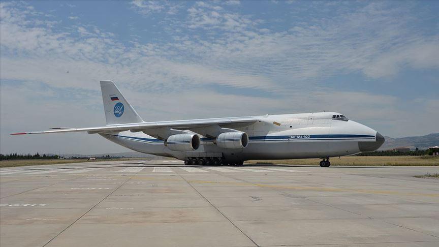 S-400 sevkiyatı kapsamında 8. uçak Mürted'e indi!