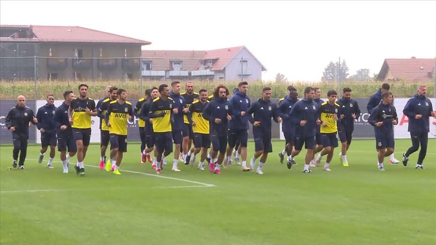Fenerbahçe'nin Avusturya kampı başladı!