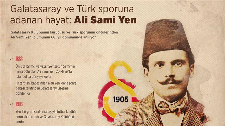 Galatasaray ve Türk sporuna adanan hayat: ALİ SAMİ YEN