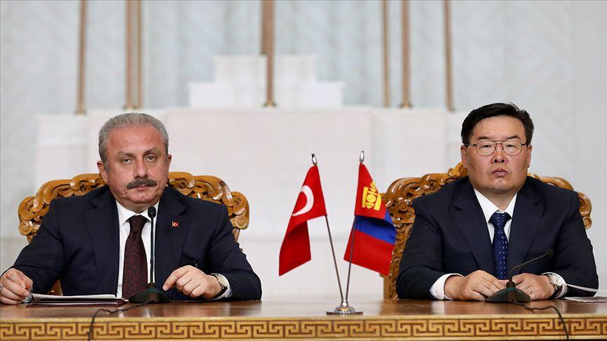TBMM Başkanı Şentop: Moğolistan ile FETÖ konusunda fikir birliği içindeyiz