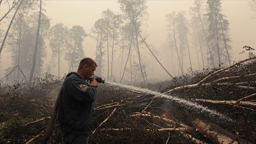 Rusya'nın Ormanları Yanıyor!