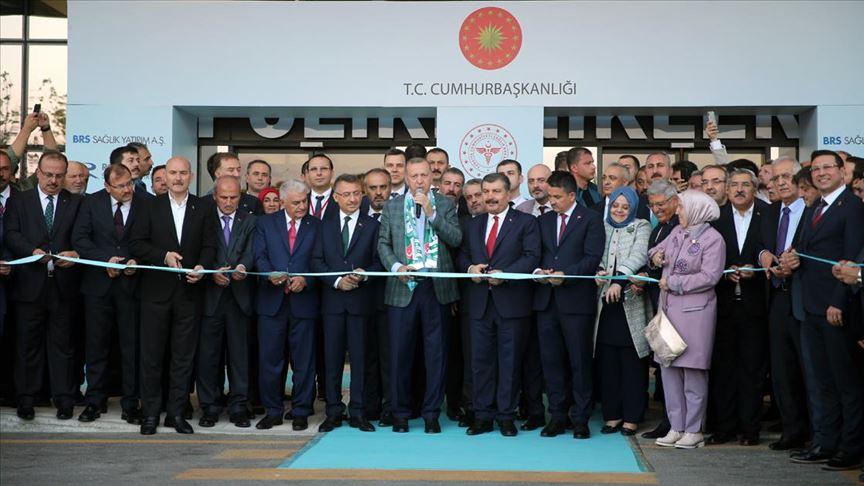Bursa Şehir Hastanesinin resmi açılışı yapıldı!