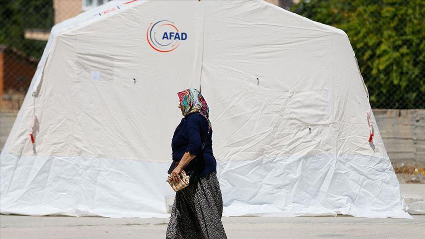 AFAD Denizli'deki deprem bölgesine 500 bin lira yardım gönderdi