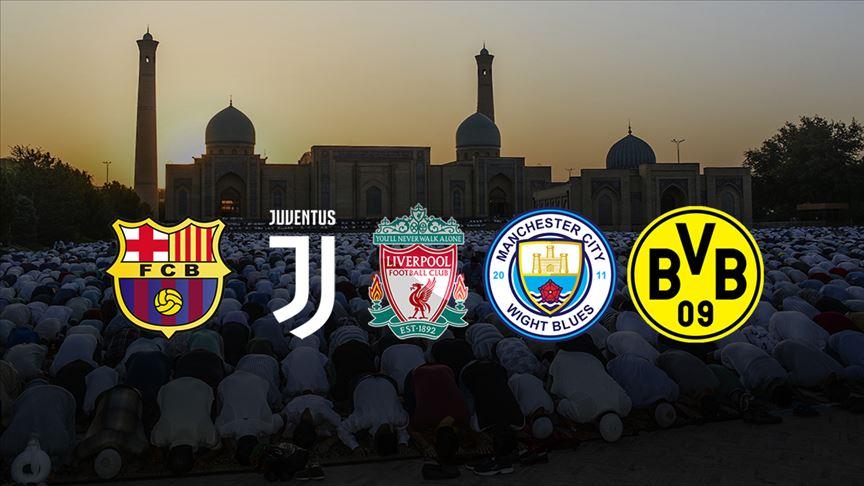 Avrupa Kulüplerinden Kurban Bayramı kutlaması