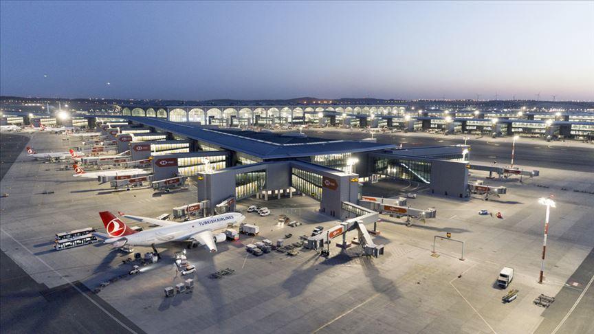 İstanbul Havalimanı'ndan saatte 53,5 sefer yapıldı