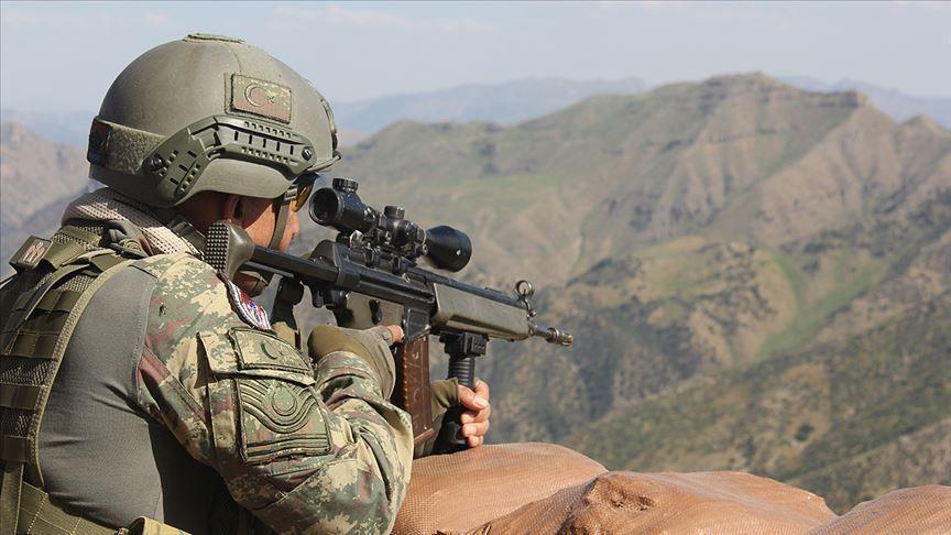 Erzincan'da 1 terörist etkisiz hale getirildi