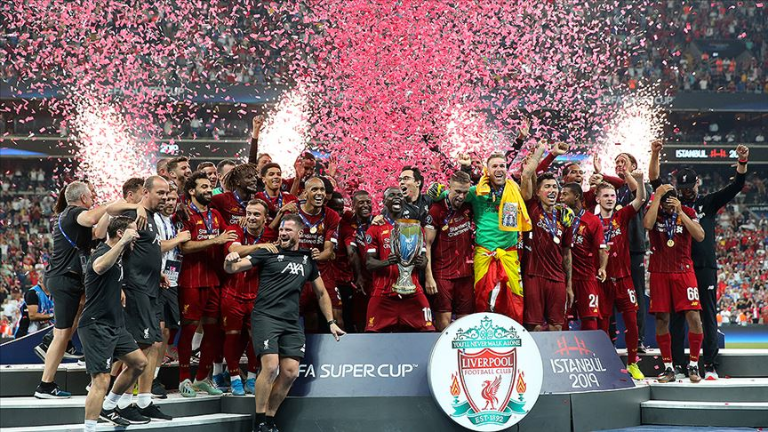 UEFA Süper Kupa Liverpool'un...