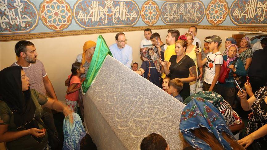 'Hacıbektaş'a ziyaretçi akını'