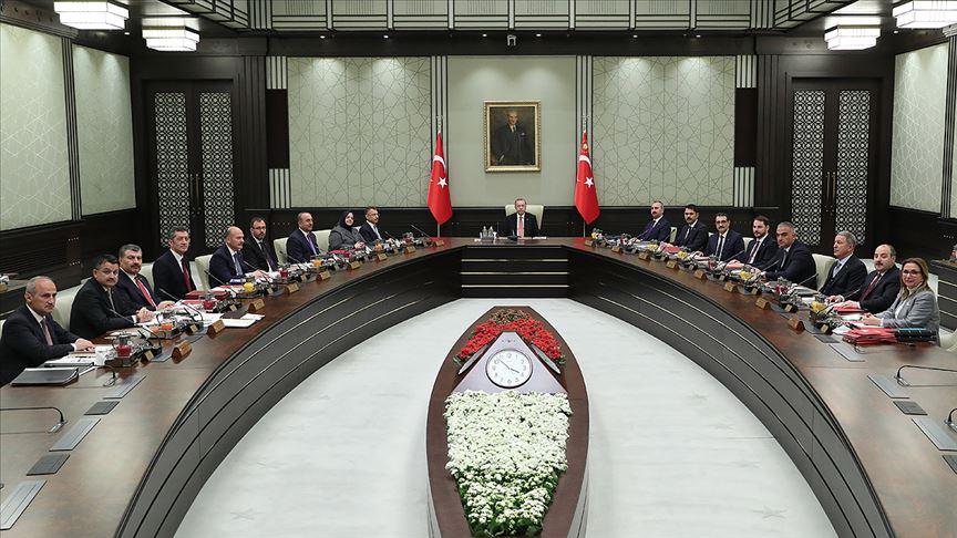 Cumhurbaşkanlığı Kabinesi toplandı!