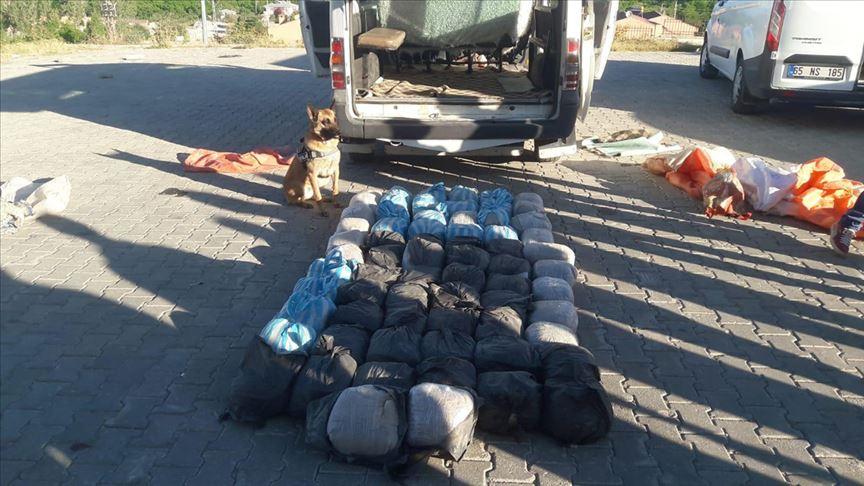 Van'da 342 kilo 700 gram eroin ele geçirildi