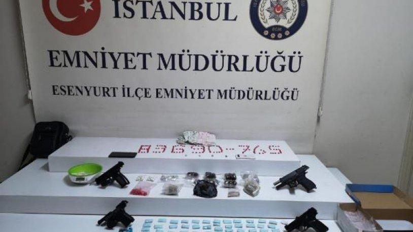 İstanbul Esenyurt'ta uyuşturucu operasyonu